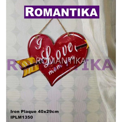 READY STOCK Wooden Metal Wall Plaque Wall Decor Birthday Gift_